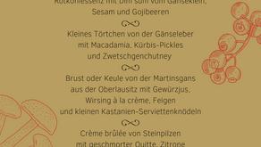 Martinsgans | Menü | ab 11.11. und solange der Vorrat reicht