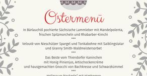 Unser Ostermenü & Oster-Öffnungszeiten