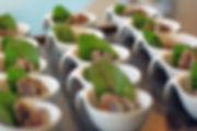 Vorspeise bzw. Fingerfood im Schälchen