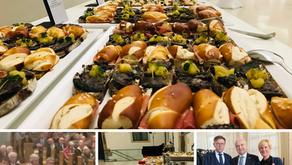 Catering mit 700 Gästen anlässlich der Geburtstagsfeier von Kurt Biedenkopf