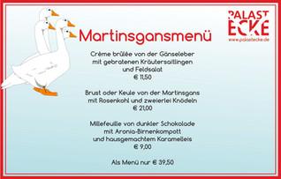 Martinsgansessen am 11.11.