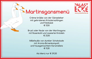 Martinsgansessen am 11.11.