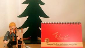 Kleines Weihnachtsgeschenk: Unser Kalender