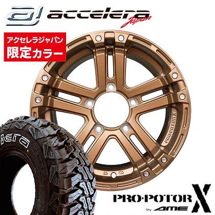 PRO-POTOR X×M/T01 185/85R16(WL) セット 予約商品5月7日頃入荷予定