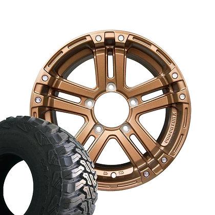 AME PRO-POTOR X PPX SJ-X5 M/T01 185/85R16 タイヤホイールセット