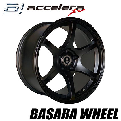 BASARA WHEELS 18×9.5J 5H114.3
