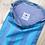 Thumbnail: Warp & Weft Striped Project Drawstring Bag