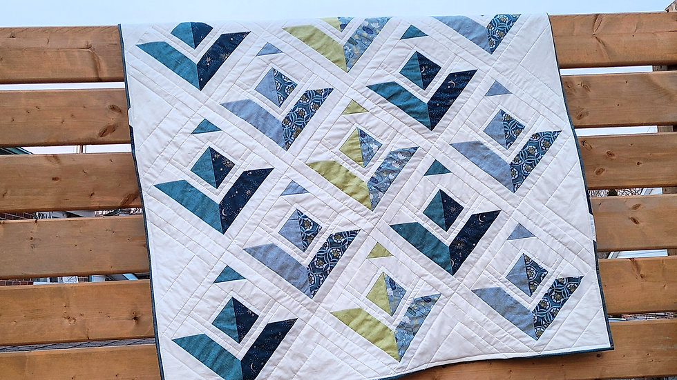 Flying High Baby Quilt