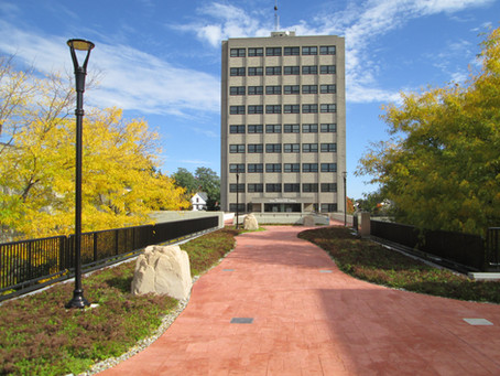 PODIUM WALKWAY TRANSFORMATION COMPLETE AT SUNY PLATTSBURGH