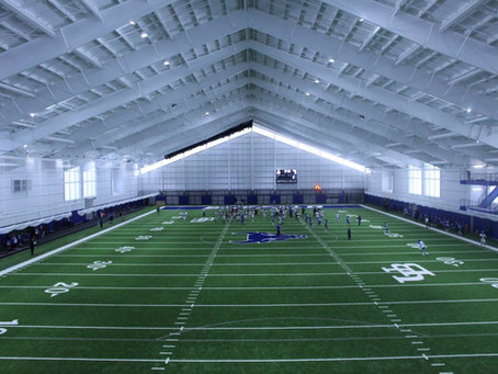 New Athletics Field House Reaches Completion