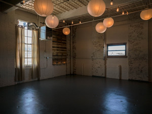 open studio area