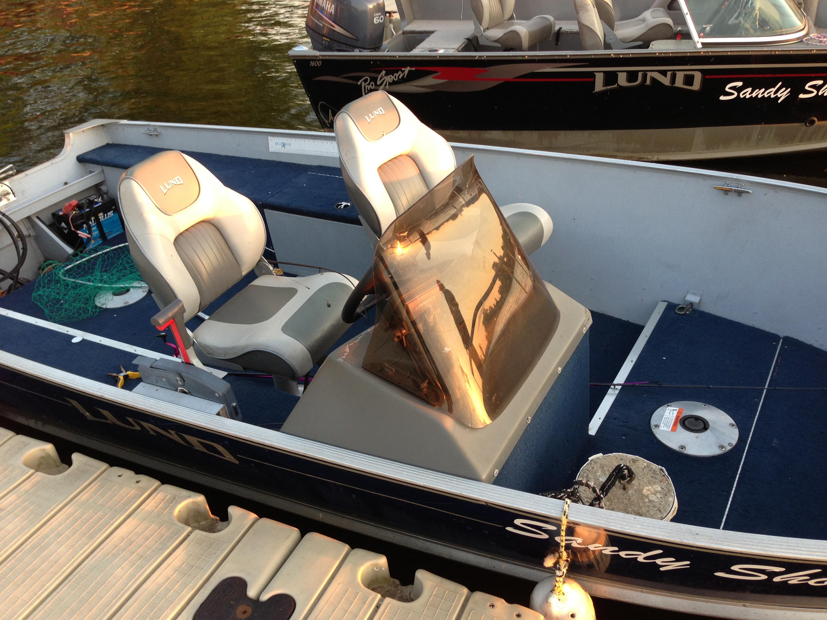 Lund Bass Boat