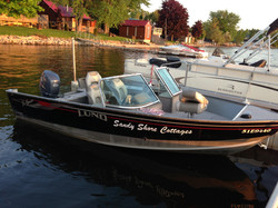 60 HP Lund Bass Boat