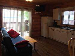 Living area, TV