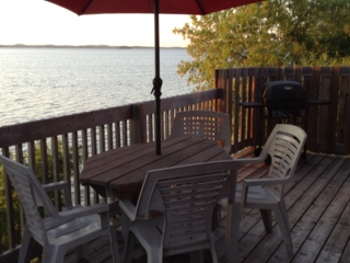 deck, Cottage #5