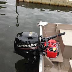 9.9 HP Mercury Motor