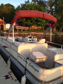 40 HP Pontoon Boat
