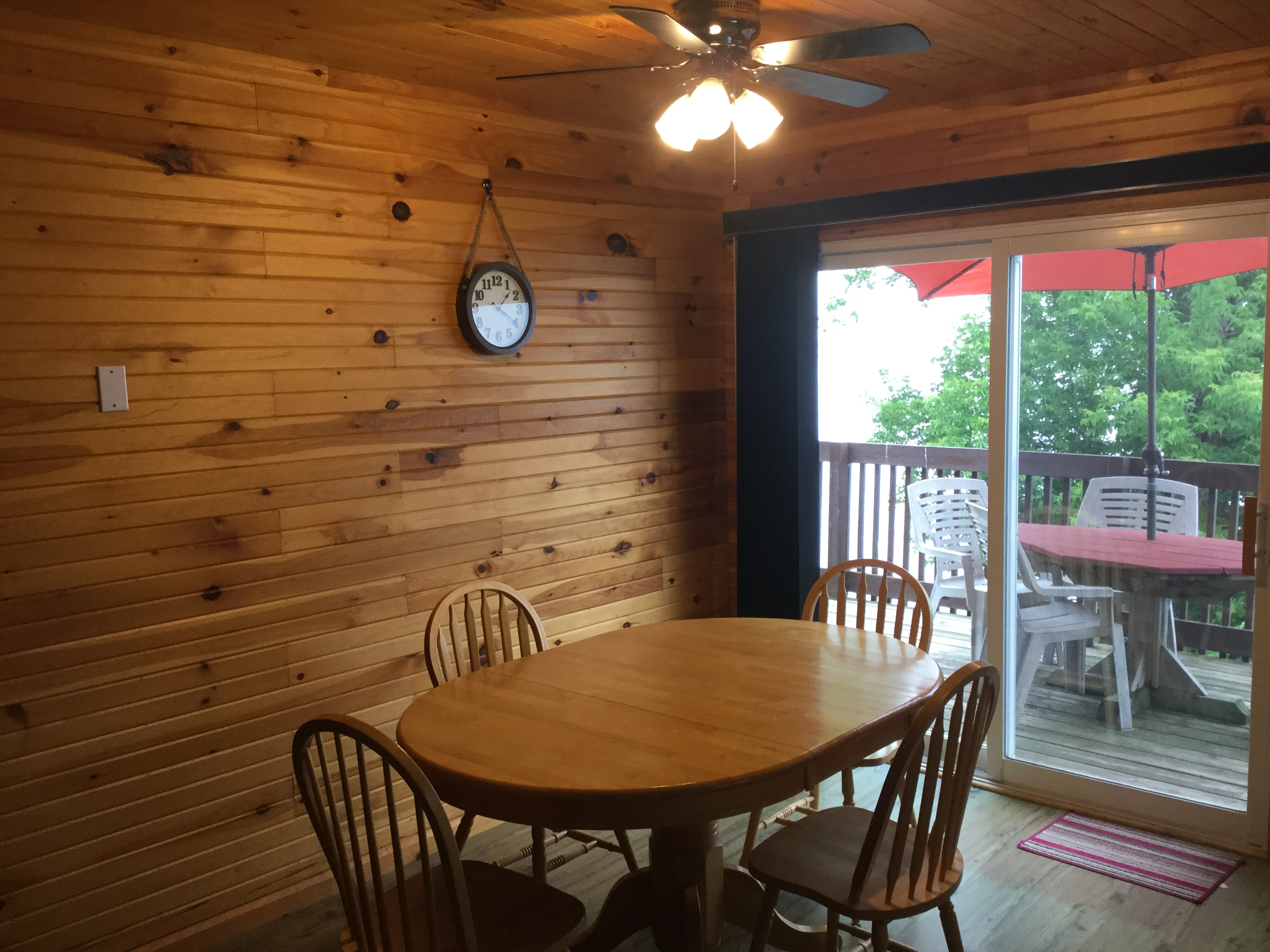 Dining area, Cottage #5