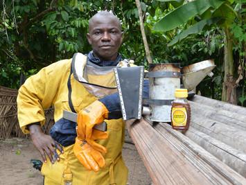 Extension team beekeeper