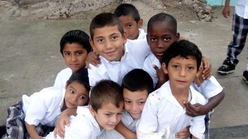Boys at El Hogar