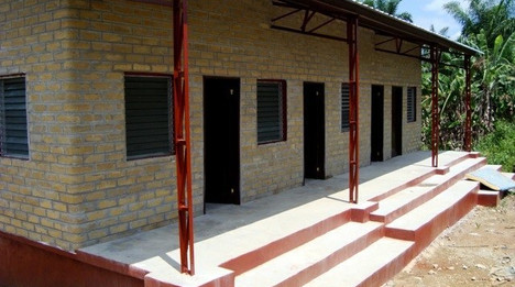 Topoe Town living quarters for teachers
