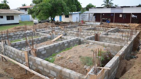 Start of construction of entreprenurship centre and UOF head office in Liberia