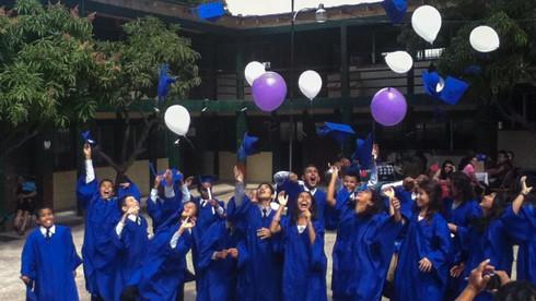 Graduation at El Hogar