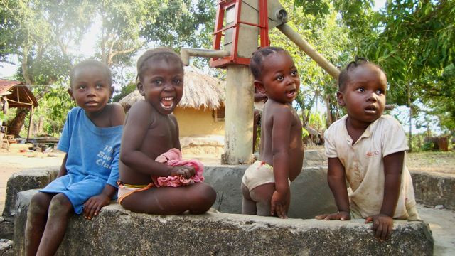 Clean water makes everyone healthy and happy