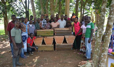 Community beekeeper training 2015