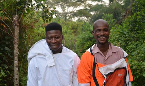 New beekeepers