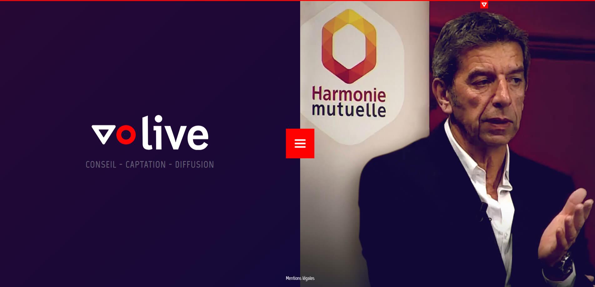 VO Live - spécialiste de la diffusion en streaming