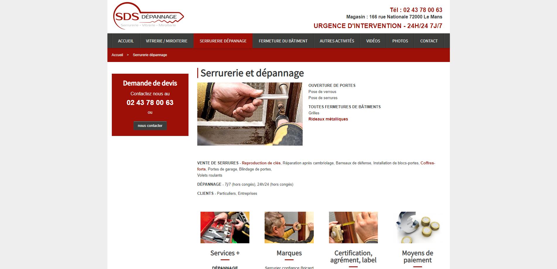 Serrurerie_dépannage_Serrurier_sur_Le_Ma