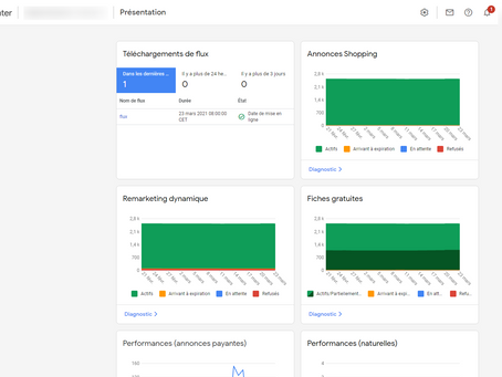 Outil de création de promotions dans Google Merchant