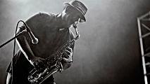 El jugador de saxofón