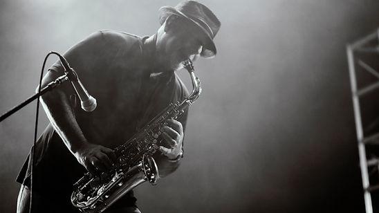 Saxophon-Spieler