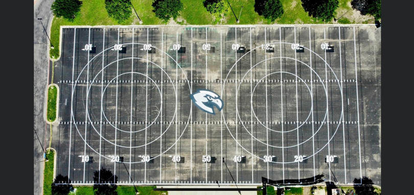 Hendrickson HS Band Field