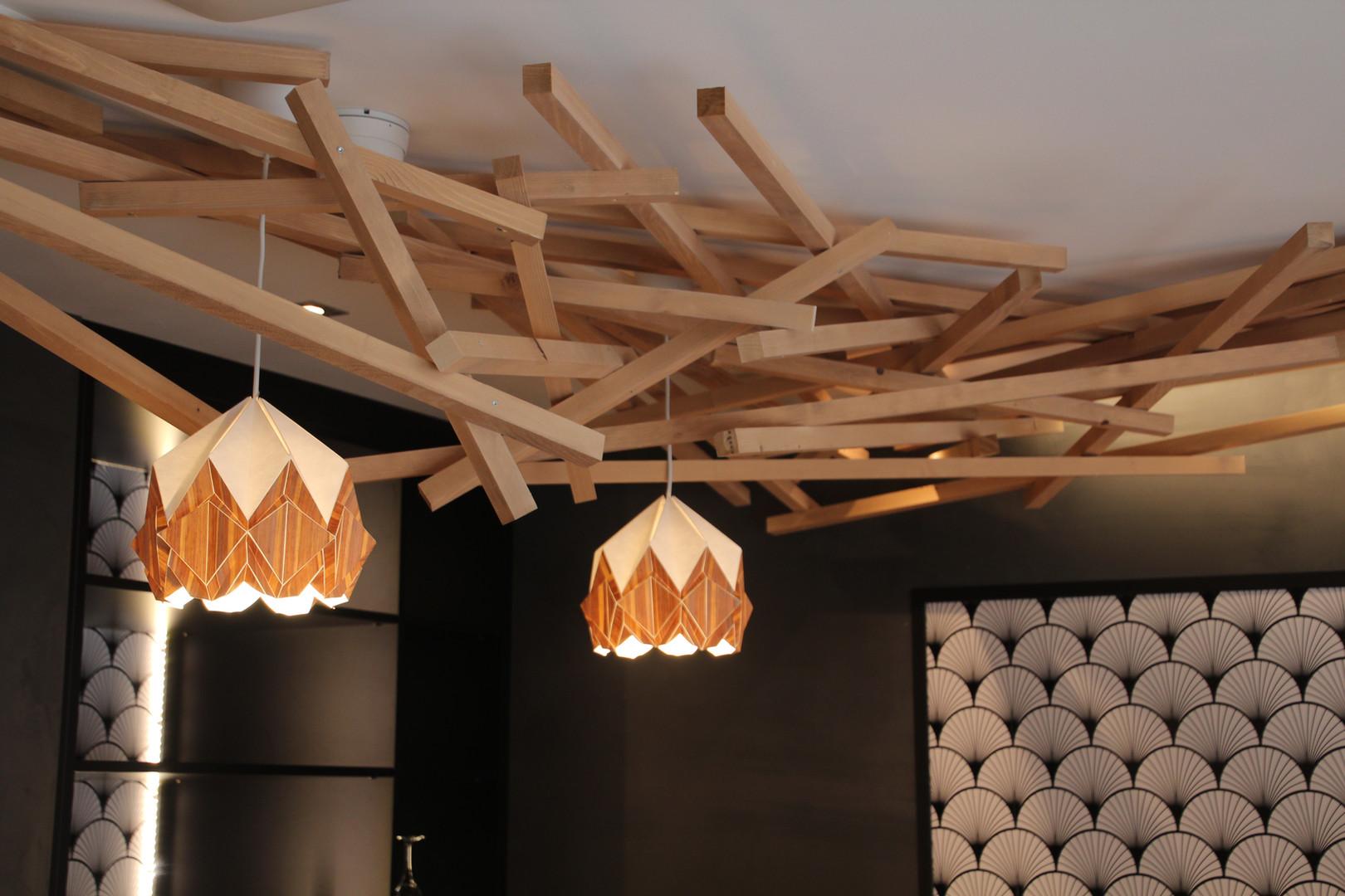 La décoration de la salle - Restaurant Yume Sushi Strasbourg