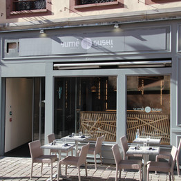 La terrasse du restaurant - Restaurant Yume Sushi Strasbourg