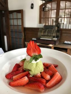La Salade de fraises