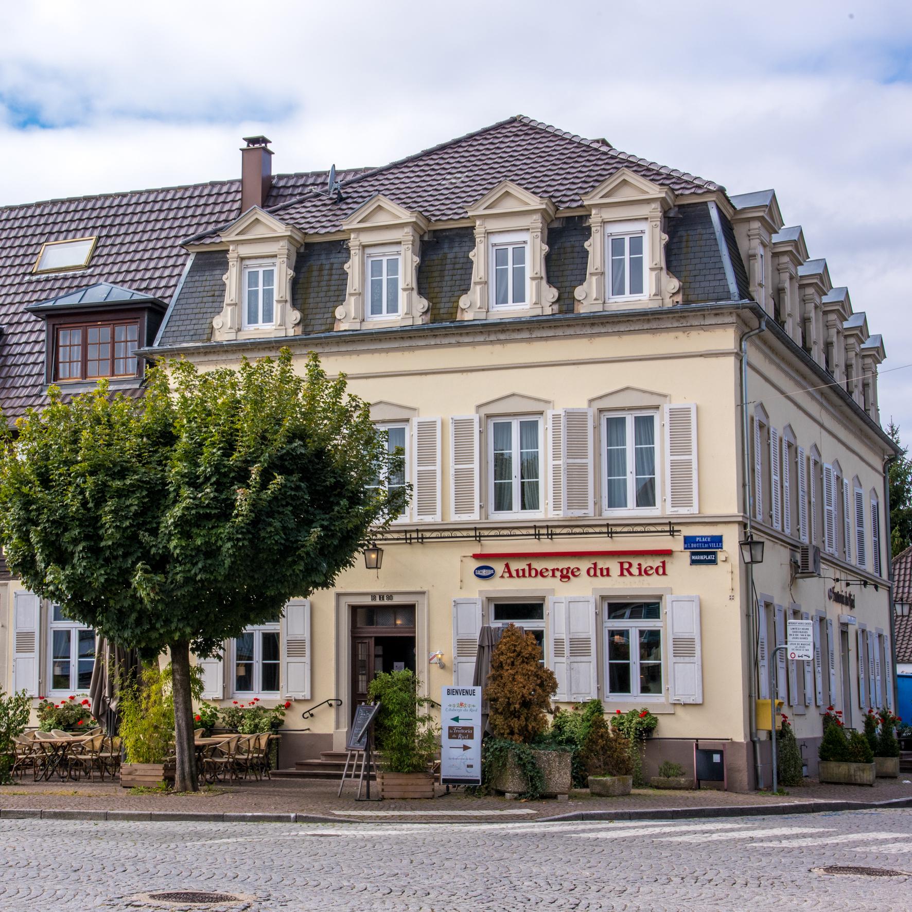 Façade_-_Restaurants_du_Ried