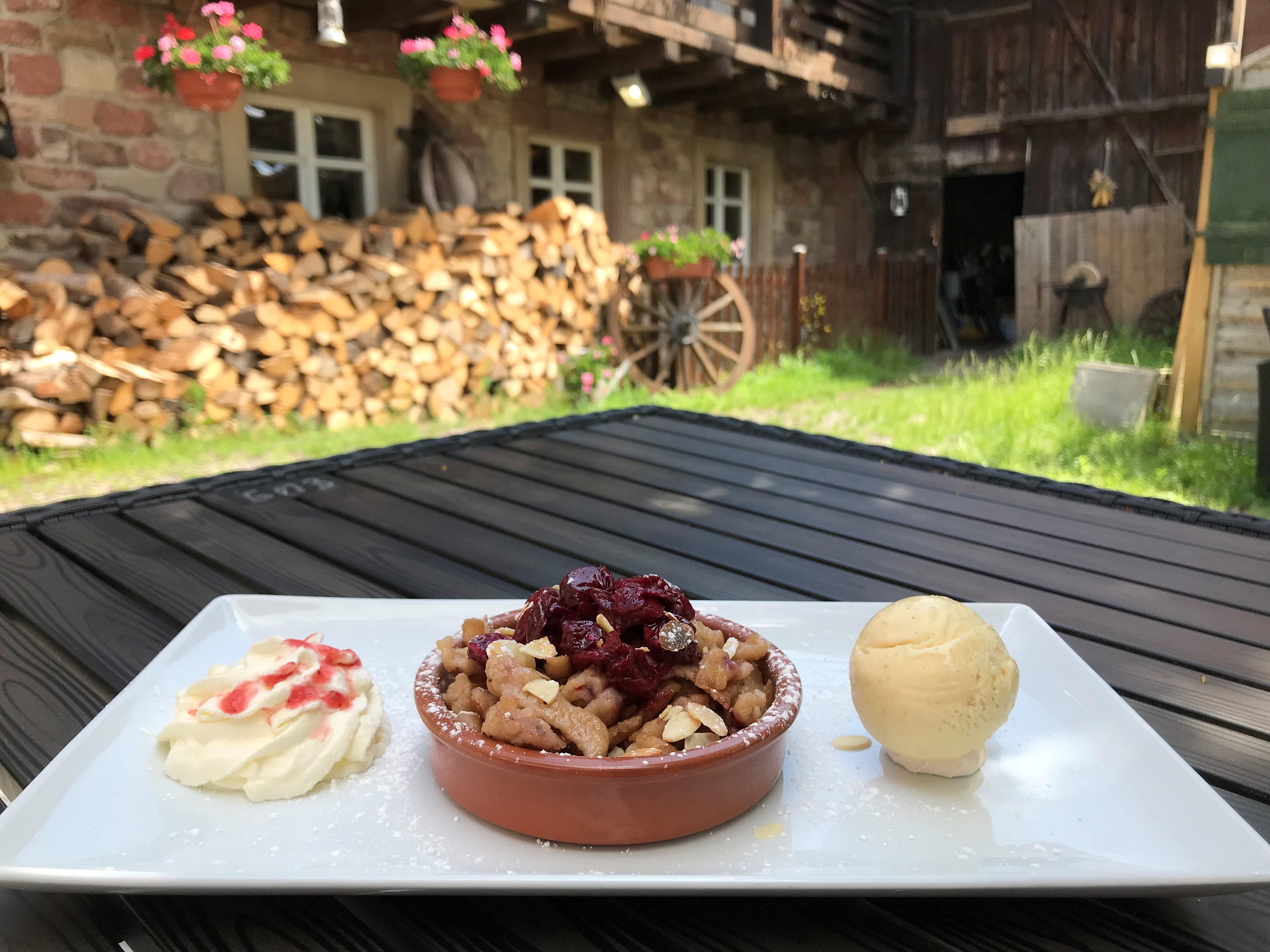 Chou'Heim - Spaetzles aux griottes