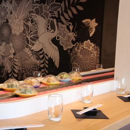 Le kaiten du restaurant - Restaurant Yume Sushi Strasbourg
