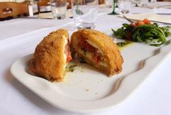 Cromesquis de Mozzarella di Bufala