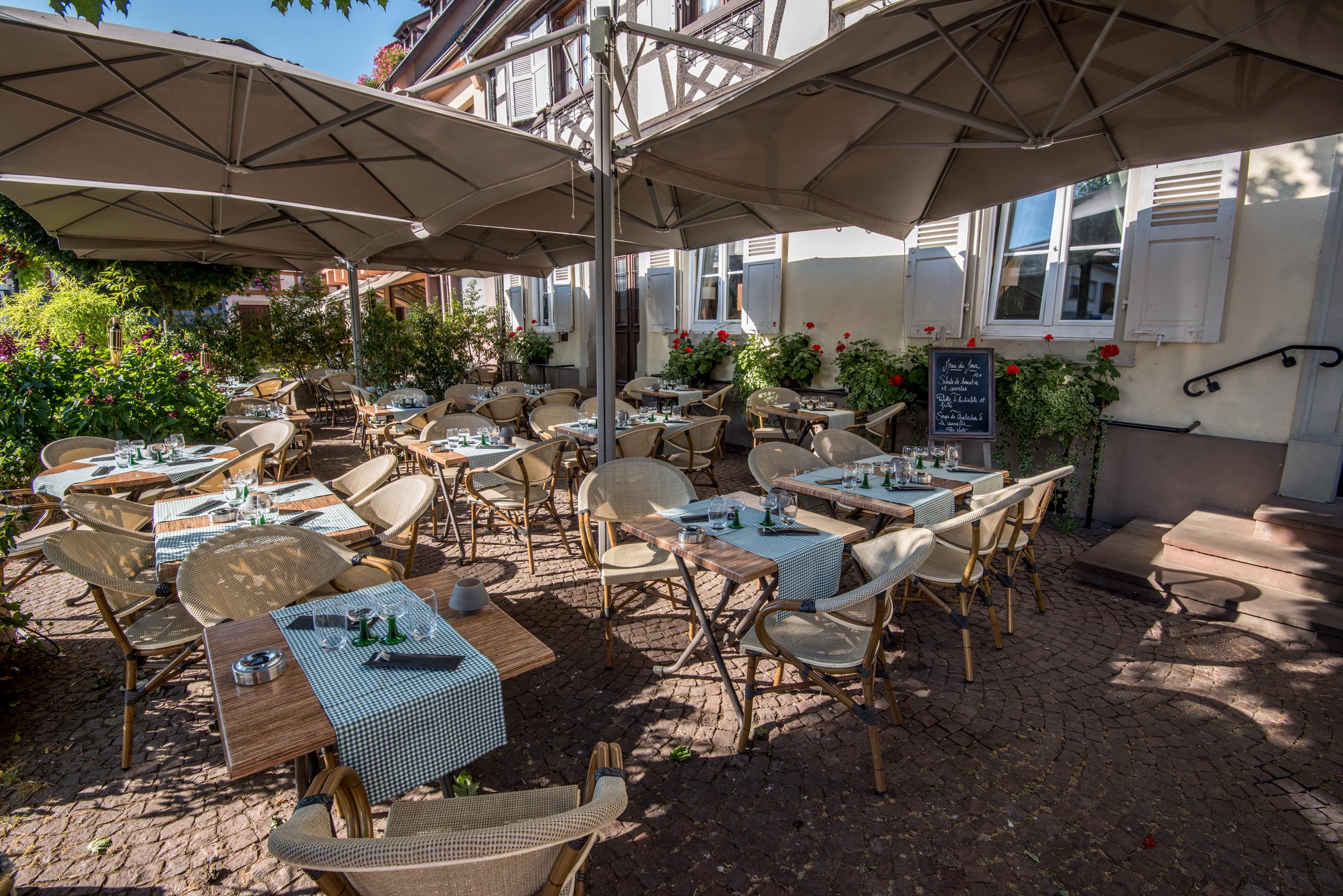 Terrasse 2 - Auberge du Ried