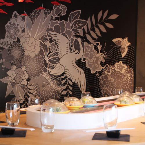 Le kaiten, tapis roulant du restaurant - Restaurant Yume Sushi Strasbourg
