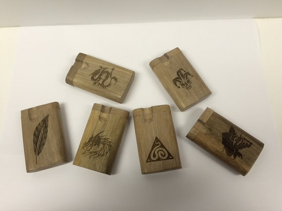 Engraved Wood Dugouts