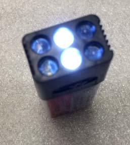 LED 9v BATTERY / Battery not included