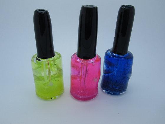 Nail polish pipe Glitter