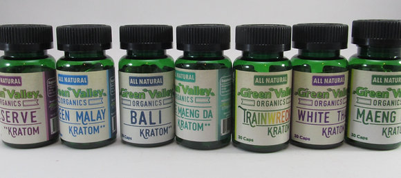 Green Valley Kratom Pills