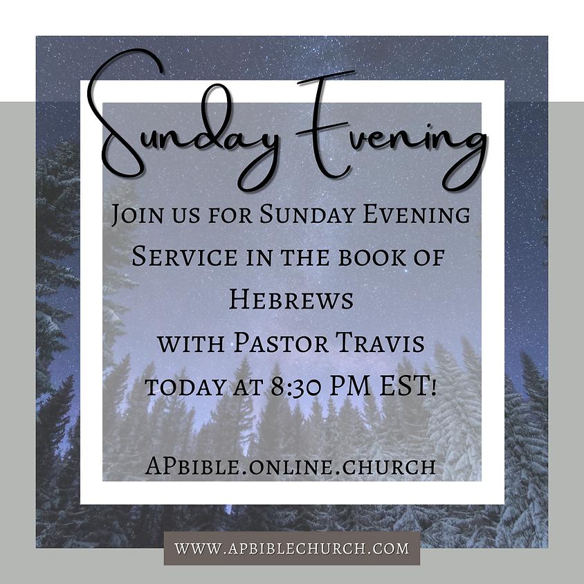 Sunday Evening Service